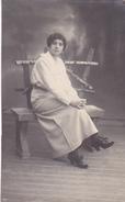 26059  Carte Photo -femme -  Belgique - Année 1918 - Celine -Jeanne Buffet ?