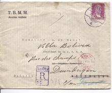 Turquie Registered Cover C.Istambul 20/4/1935 To Brussels Redirected To Duinbergen Cinderella PR4085