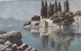Feldpost WW1: Postcard Painting From Heeres-Minenwerferschule Nr. 1 P/m 23.9.1918  (T9A4) - Militaria
