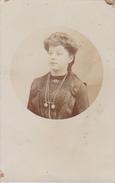 26061  Carte Photo -femme -  Belgique - Année 1911 -