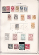 Belgique - Collection Vendue Page Par Page - Timbres Oblitérés / Neufs */** - B/TB