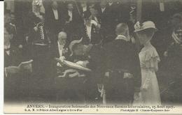 Anvers Inauguration Solennelle Des Nouveaux Bassins Intercalaires 15 Aout 1907  (5253) - Antwerpen