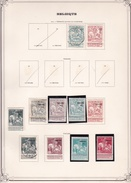 Belgique - Collection Vendue Page Par Page - Timbres Oblitérés / Neufs */** - B/TB - 1910-1911 Caritas