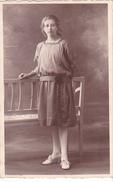 26066  Carte Photo -femme Couple -robe Vers 1910 ?  -  Belgique -photo Baugnief Thuin- Beaumont -