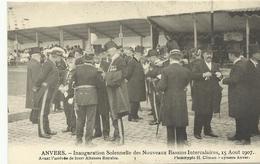 Anvers Inauguration Solennelle Des Nouveaux Bassins Intercalaires 15 Aout 1907 Avant L'arrivée De Leurs.. (5260) - Antwerpen