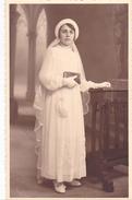 26067 Carte Photo -communiante Fillette Religion   -  Belgique - - Femmes