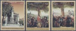 2004.11 CUBA MNH 2002. 485 ANIV FUNDACION DE LA HABANA. FOUNDATION  HAVANA TEMPLETE.