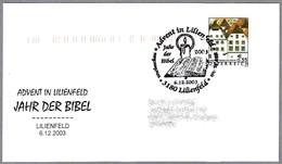 AÑO DE LA BIBLIA - YEAR OF THE BIBLE - JAHR DER BIBEL. Lilienfeld 2003