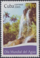 2005.4 CUBA MNH 2005. DIA MUNDIAL DEL AGUA. WATER WORLD DAY.