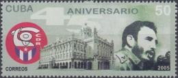 2005.16 CUBA MNH 2005. 45 ANIV CDR. FIDEL CASTRO. PALACIO PRESIDENCIAL.
