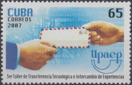 2007.53 CUBA MNH 2007. TALLER DE COMUNICACIONES UPAEP CARTA LETTER.
