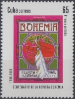 2008.21 CUBA MNH 2008. 50 ANIV REVISTA BOHEMIA.