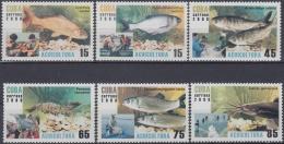 2008.37 CUBA MNH 2008. ACUICULTURA PECES FISH.