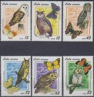 2008.41 CUBA MNH 2008. BUHOS LECHUZAS BIRD AVES.