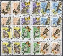 2008.42 CUBA MNH 2008. BUHOS LECHUZAS BIRD AVES. BLOCK 4.
