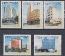 2008.45 CUBA MNH 2008. HOTELES GRAN CARIBE. VICTORIA PRESIDENTE DEAUVILLE HABANA LIBRE RIVIERA.