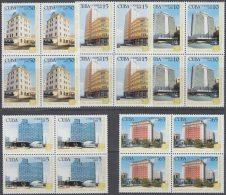 2008.46 CUBA MNH 2008. HOTELES GRAN CARIBE. VICTORIA PRESIDENTE DEAUVILLE HABANA LIBRE RIVIERA. BLOCK 4.