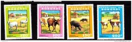 1993 Burundi Farm Animals MNH