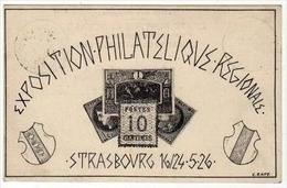 !!! ENTIER POSTAL TSC 30 C SEMEUSE EXPO STRASBOURG 1926
