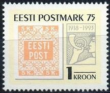 PIA - ESTONIA - 1993 : 75° Anniversario Dell' Emissione Del Primo Francobollo Estone   -   (Yv 228)