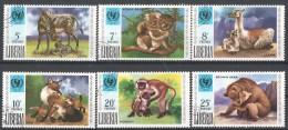 59-479 /LIBERIA 1971  25 YEARS  UNICEF  Mi 803/08 O