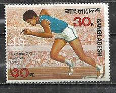 BANGLADESH 1976 - OLYMPIC GAMES - OBLITERE USED GESTEMPELT USADO