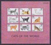 F32 Bhutan - MNH - Animals - Cats