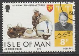 Isle Of Man 1974 Winners Of The Isle Of Man TT Motorcycle Races 8p Multicoloured Used