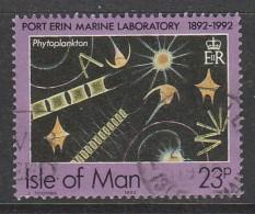 Isle Of Man 1992 Port Erine Marine Laboratory, 1892-1992 23p Multicoloured Used