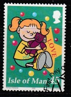 Isle Of Man 2000 Christmas Stamps 45p Multicoloured Used