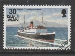 Isle Of Man 1993 Ships 30p Multicoloured Used