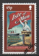 Isle Of Man 2000 Tourism - Posters 45p Multicoloured Used