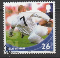 Isle Of Man 2002 Football World Cup - South Korea And Japan - Games Scenes 26p Multicoloured Used