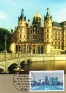 "BRD Maximumkarte ""Landtag Mecklenburg-Vorpommern, Schwerin"" Mi 2037 ESSt 11.3.1999 BERLIN ZENTRUM - [7] République Fédérale"