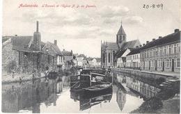 Audenarde -Oudenaarde Escaut Et L'église N.D. De Pamele - Oudenaarde