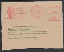 Deutschland 1980, Streifband, Kaktus  / Germany 1980, Wrapper Numeral, Cactus