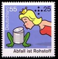 Allemagne Deutschland 2757 Recyclage , Grenouille