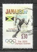 JAMAICA 2000 - OLYMPIC GAMES - OBLITERE USED GESTEMPELT USADO