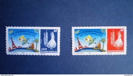 NOUVELLE CALEDONIE N° 1169/70  PERSONNALISES   SALON OPT DES COLLECTINNEURS  2012  NEUF*** LUXE TRES PETIT TIRAGE RARE - New Caledonia