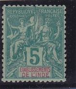 Inde N° 4 Neuf * - India (1892-1954)