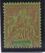 Inde N° 7 Neuf * - India (1892-1954)