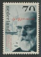 Nederland Netherlands Pays Bas 1993 Mi 1484 YT 1449 ** Nobel Prize Winner J.D. Van Der Waals - Physics / Physik - Fysica