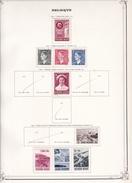 Belgique - Collection Vendue Page Par Page - Timbres Oblitérés / Neufs */** - B/TB - Unclassified