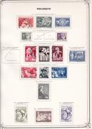 Belgique - Collection Vendue Page Par Page - Timbres Oblitérés / Neufs */** - B/TB - Bélgica