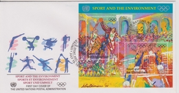 FDC NATIONS UNIES 1996 Sports Et Environnement