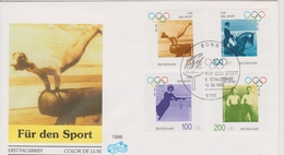 FDC ALLEMAGNE 1996 JEUX OLYMPIQUES 1896/1996
