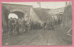 Belgique - HOLLEBEKE - Carte Photo - Foto - Pont - Brücke - Soldats Alemands - Feldpost - Guerre 14/18 - Zonder Classificatie