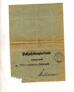 Lettre  Avis Impot Cachet Grentzingen
