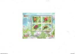 India - 2017- Ladybird Beetle - MNH - Miniature Sheet.