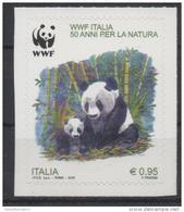 ITALY, 2016, MNH, WWF, PANDAS, 1v